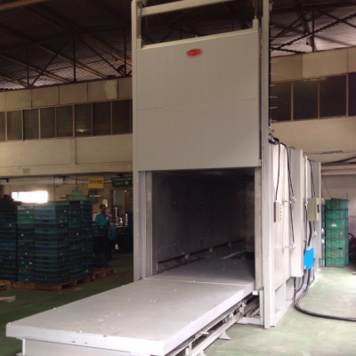 Trolley Type T5 Aluminum Heat Treatment Furnace