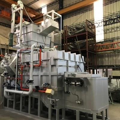 Fast Continuous Melting Holding Furnace